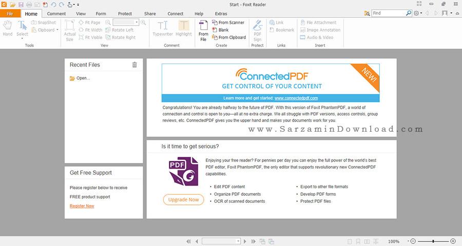 نرم افزار خواندن و ویرایش PDF با امکانات فراوان - Foxit Reader 8.0.2