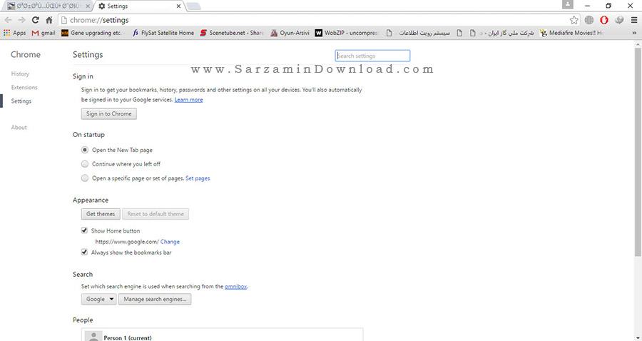 مرورگر گوگل کروم - Google Chrome 52