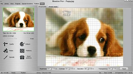 نرم افزار ساخت تصاویر موزاییکی - Legoaizer Plus 4.2