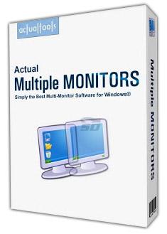 نرم افزار مدیریت چند مانیتور - Actual Multiple Monitors 8.10