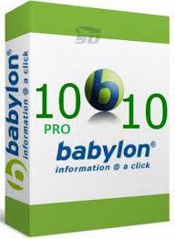 نرم افزار دیکشنری بابیلون - Babylon Pro 10.5.0.15