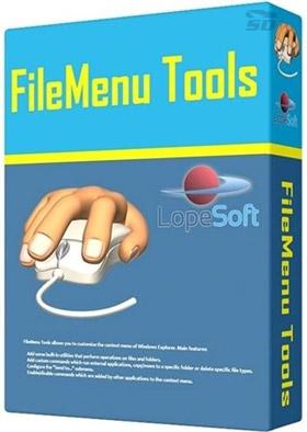 نرم افزار ویرایش منوی کلیک راست - FileMenu Tools 7.1.2