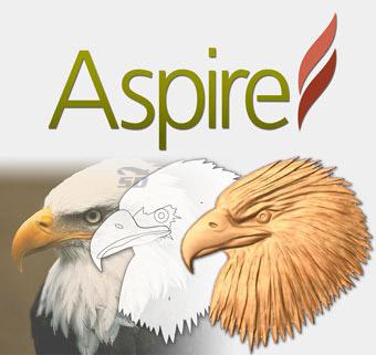 نرم افزار طراحی مدل های 3 بعدی ماشین های سی ان سی - Vectric Aspire 8.5.1