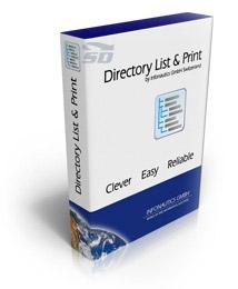 نرم افزار ایجاد لیست از فایل های یک فولدر و پرینت آن - Directory List and Print Pro 3.24