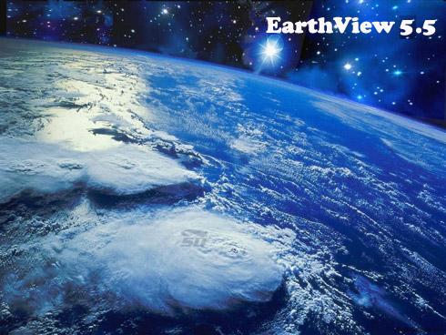 نرم افزار مشاهده کره زمین بر روی دسکتاپ و اسکرین سیور - EarthView 5.5.30