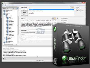 نرم افزار قوی جستجو و حذف فایل های تکراری - IDM UltraFinder 16