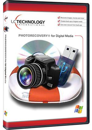 نرم افزار بازیابی عکس های پاک شده - LC Technology PHOTORECOVERY Pro 5.1.4