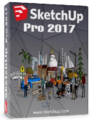نرم افزار 3 بعدی اسکچ آپ (برای ویندوز) - SketchUp Pro 17.2 Windows