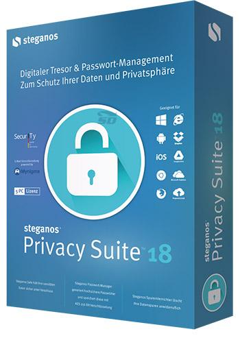 نرم افزار پنهان سازی اطلاعات (برای ویندوز) - Steganos Privacy Suite 18 Windows