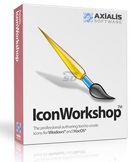 نرم افزار طراحی آیکون (برای ویندوز) - Axialis IconWorkshop Professional 6.9 Windows