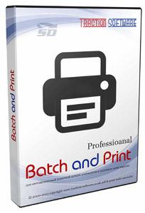 نرم افزار حرفه ای چاپ اسناد (برای ویندوز) - Batch and Print Pro 9.06 Windows