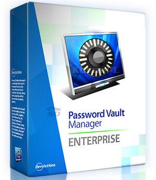 نرم افزار پسوردهای سیستم (برای ویندوز) - Devolutions Password Vault Manager Enterprise 8.5.2 Windows
