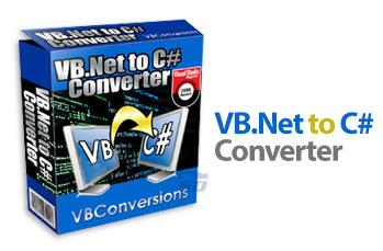 نرم افزار تبدیل زبان وی بی به سی شارپ (برای ویندوز) - VB.Net to C# Converter 5.01 Windows