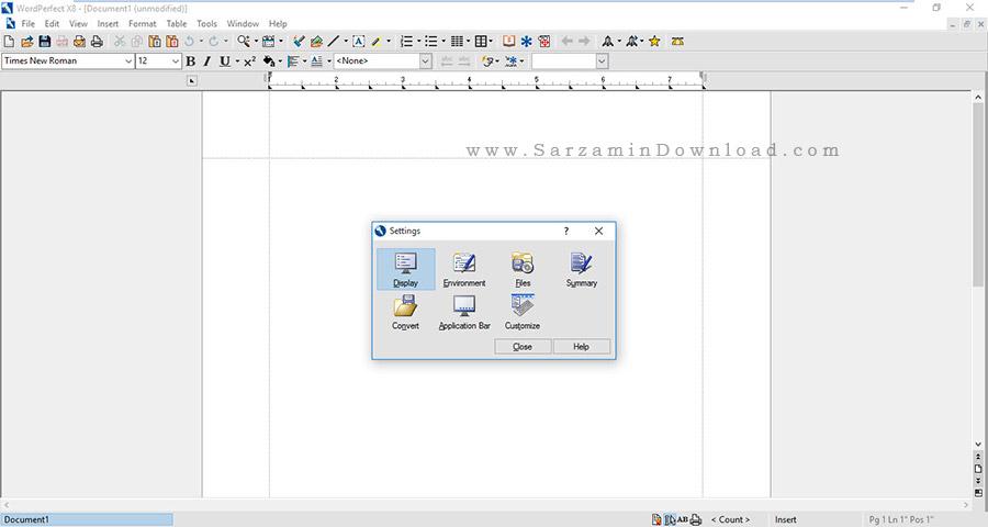 مجموعه آفیس شرکت کورل (برای ویندوز) - Corel WordPerfect Office X8 v18 Windows