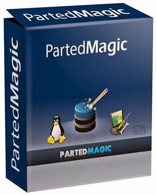 نرم افزار پارتیشن بندی و مدیریت دیسک سخت، به صورت CD بوتیبل (برای ویندوز) - Parted Magic 2017.09.05 Windows