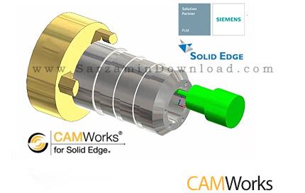 نرم افزار تراشکاری (برای ویندوز) - CAMWorks 2017 SP2 Windows