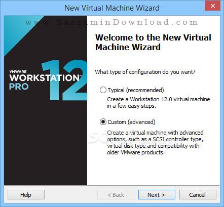 نرم افزار نصب سیستم عامل مجازی (برای ویندوز) - VMware Workstation Pro 14.0.0 Build 6661328 Windows