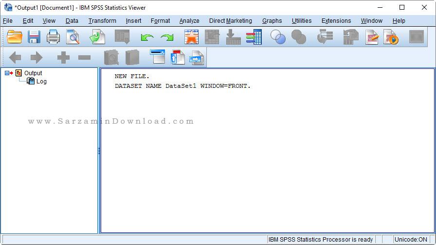 نرم افزار اس پی اس اس تحلیل داده های آماری (برای ویندوز) - IBM SPSS Statistics 25.0 IF003 Windows