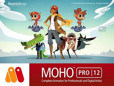 نرم افزار ساخت انیمیشن و کارتون (برای ویندوز) - Smith Micro Moho Pro 12.3.0 Build 22035 Windows