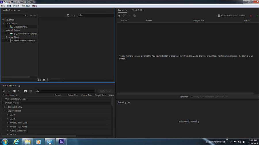 نرم افزار تبدیل فایل های ویدیویی (برای ویندوز) - Adobe Media Encoder 2020 v14.6.0.42 Windows