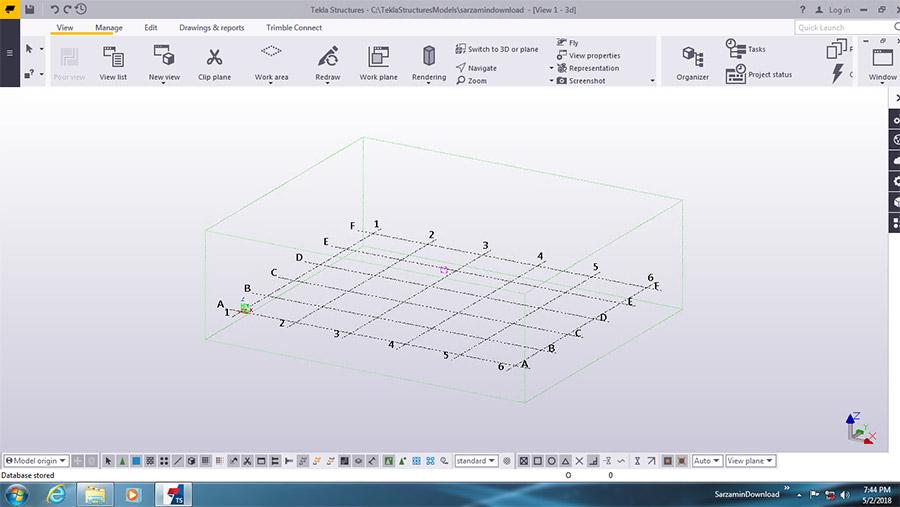 نرم افزار طراحی سه بعدی سازه ها (برای ویندوز) - Tekla Structures 2020.56544 Windows