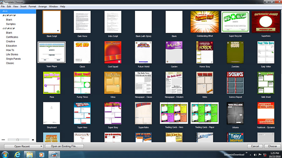نرم افزار ساخت کمیک استریپ (برای ویندوز) - Comic Life 3.5.9 Windows