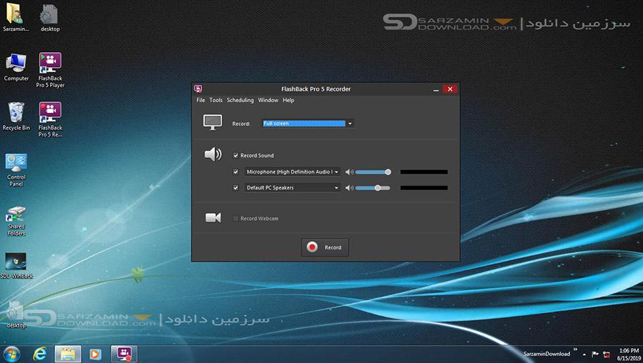 نرم افزار ساخت فیلم های آموزشی (برای ویندوز) - BB FlashBack Pro 5.36.0.4417 Windows