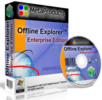 نرم افزار دانلود کامل یک سایت (برای ویندوز) - Offline Explorer Enterprise 7.6.4630 Windows
