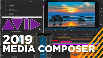 نرم افزار حرفه ای ویرایش فیلم (برای ویندوز) - Avid Media Composer 8.5.0 Windows