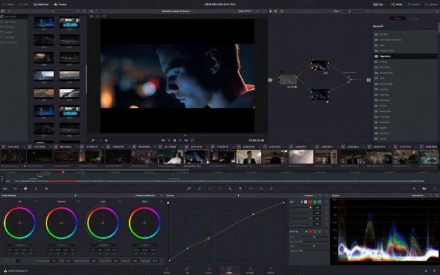 نرم افزار ویرایش فیلم (برای ویندوز) - DaVinci Resolve Studio 15.3.1.3 Windows