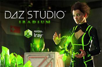 نرم افزار ساخت انیمیشن های 3 بعدی (برای ویندوز) - DAZ Studio Pro 4.12.0.86 Windows