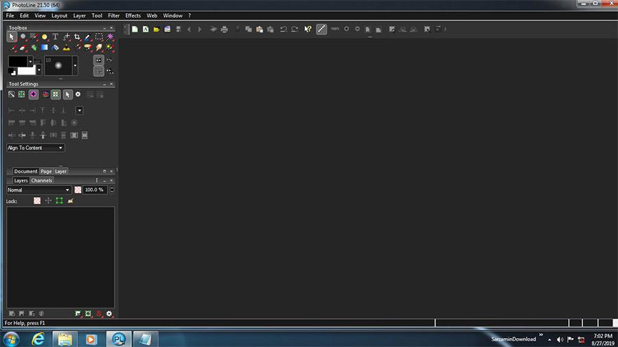 نرم افزار طراحی و ویرایش پوستر و عکس (برای ویندوز) - PhotoLine 21.50.0 Windows