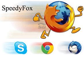 نرم افزار افزایش سرعت مرورگر فایرفاکس (برای ویندوز) - SpeedyFox 2.0.26 Build 140 Windows