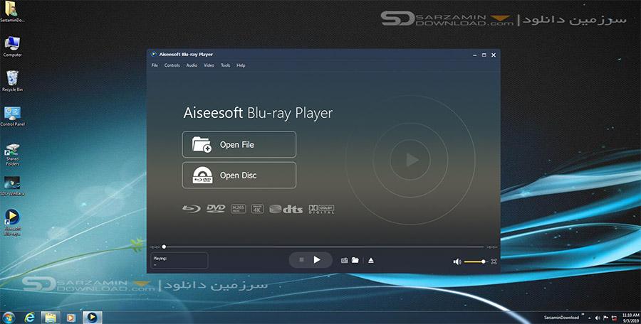 نرم افزار پخش فیلم های بلوری (برای ویندوز) - Aiseesoft Blu-ray Player 6.6.20 Windows