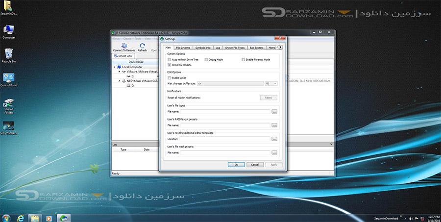 نرم افزار بازیابی اطلاعات (برای ویندوز) - R-Studio 8.11.175357 Windows