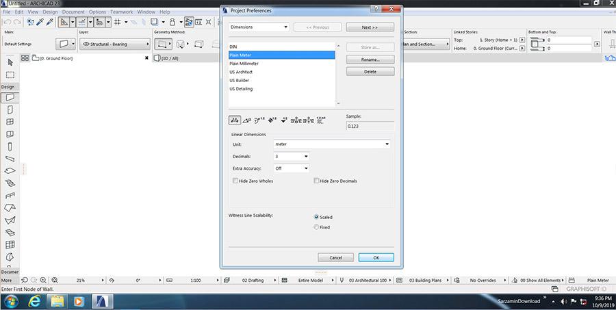 نرم افزار طراحی و نقشه کشی ساختمان (برای ویندوز) - ArchiCAD 23 Build 3003 Windows