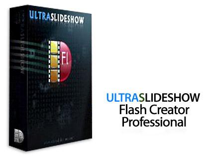 نرم افزار ساخت اسلاید شو (برای ویندوز) - Ultraslideshow Flash Creator Pro 1.60 Windows