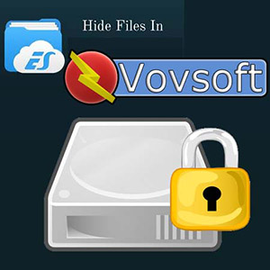نرم افزار رمزگذاری فولدر (برای ویندوز) - VovSoft Hide Files 5.8 Windows
