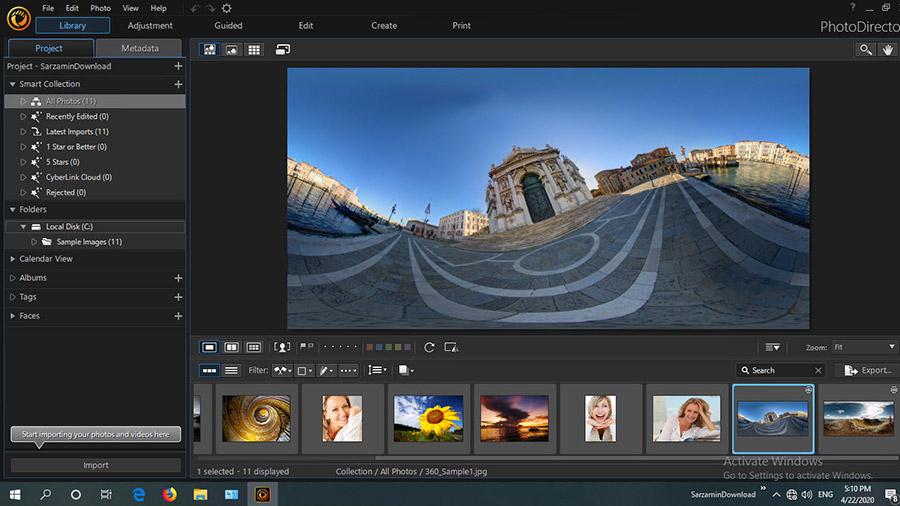 نرم افزار ویرایش عکس (برای ویندوز) - CyberLink PhotoDirector Ultra 11.0.2516.0 Windows