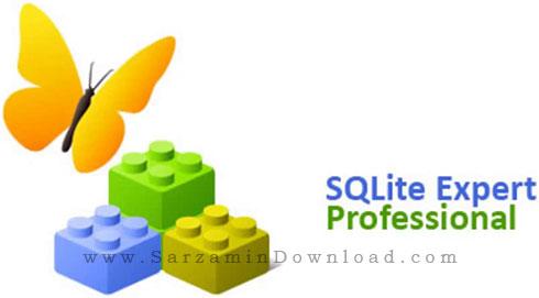 نرم افزار مدیریت پایگاه داده های SQL (برای ویندوز) - SQLite Expert Professional 5.3.5.479 Windows