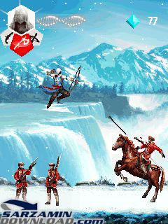 بازی اساسین کرید 3 (برای جاوا) - Assassin's Creed 3 JAVA