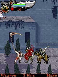 بازی خدای جنگ (برای جاوا) - God of War Betrayal 1.4.46 JAVA