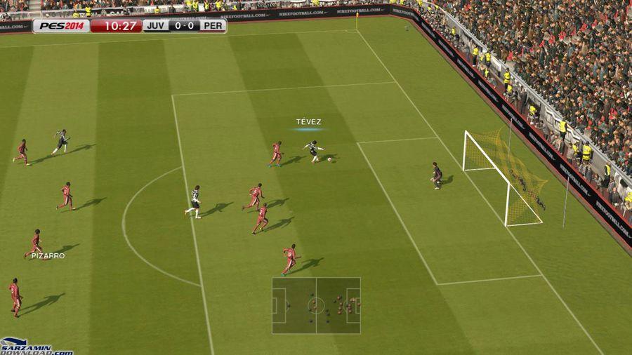 بازی فوتبال PES 2014 (برای کامپیوتر) - Pro Evolution Soccer 2014 PC Game