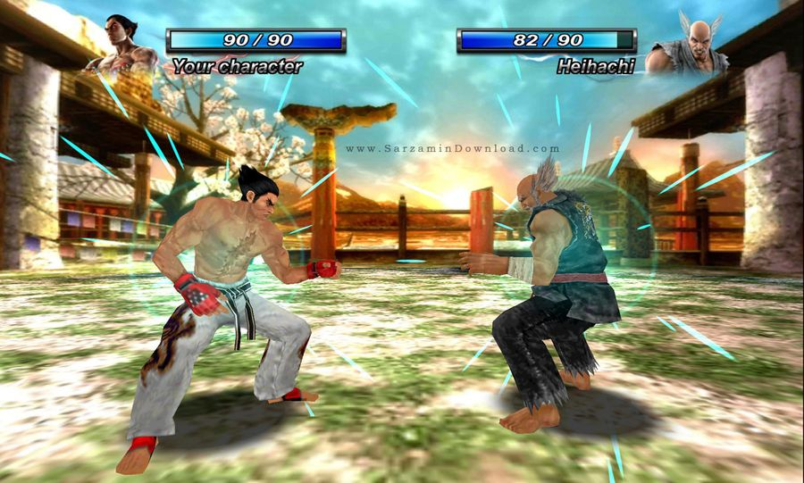 بازی تیکن (برای اندروید) - Tekken Card Tournament 3.204 Android