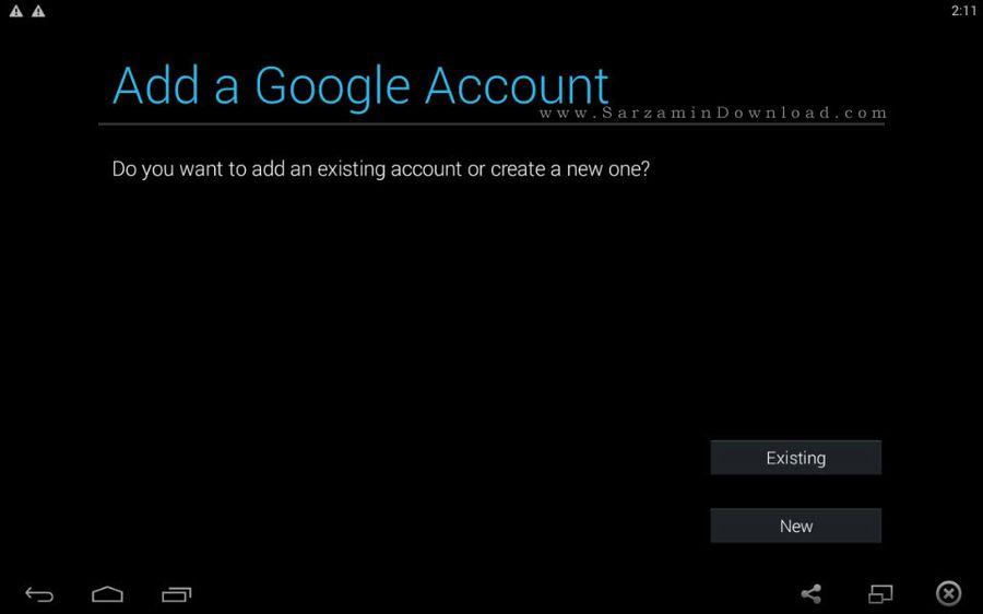 آموزش اضافه و حذف کردن اکانت Gmail در اندروید
