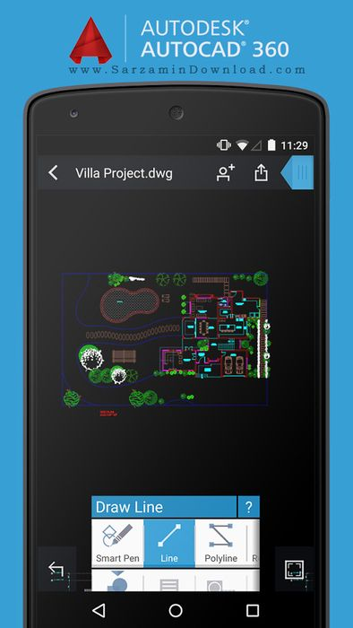 دانلود نرم افزار اتوکد (برای اندروید) - AutoCAD 360 v.3.0.11 ...نرم افزار اتوکد (برای اندروید) - AutoCAD 360 v.3.0.11 Android