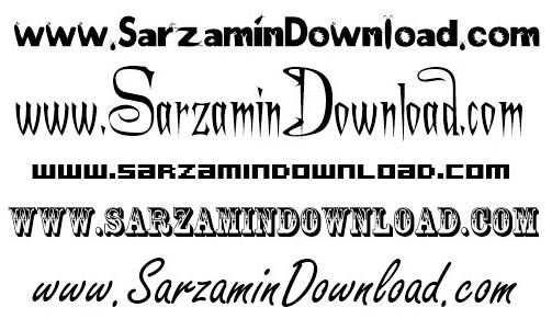 دانلود مجموعه فونت انگلیسی - 2100English Font Collection - دانلود رایگان  -  دیجی دانلود