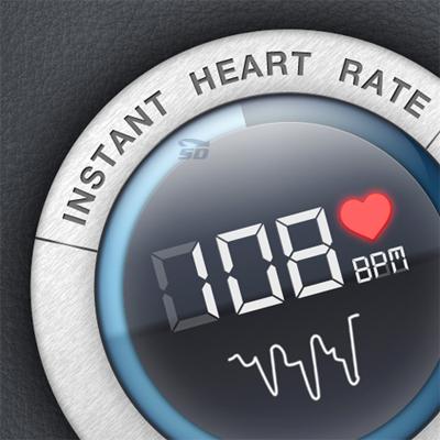نرم افزار نمایش ضربان قلب (برای آیفون) - Instant Heart Rate 4.7.0 iOS