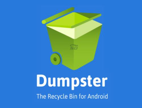 دانلود نرم افزار سطل بازیافت اطلاعات (برای اندروید) - Dumpster 1.1.120 Android - دانلود رایگان