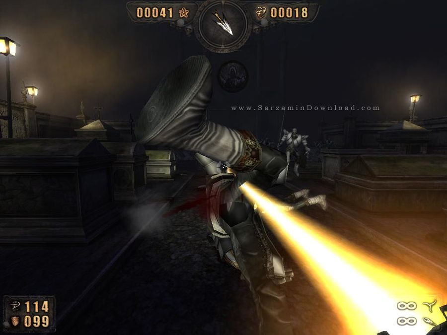 بازی جنگی قاتل درد (برای کامپیوتر) - Painkiller PC Game